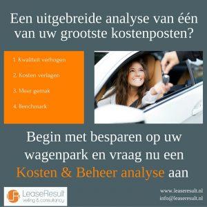 Kosten & Beheer wagenpark
